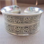 Cherished Retro Silver Plated Bracelet - $13 with FREE Shipping!