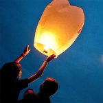 10-Pack: Trance Balloons Sky Lanterns- $27 with Free Shipping