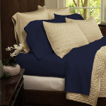 4-Piece Set: Super-Soft 1800 Series Bamboo Fiber Bed Sheets- $39 with Free Shipping